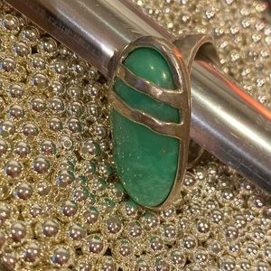 Silpada minty fresh stone ring.